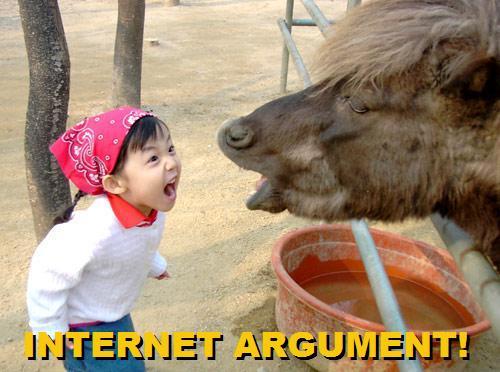 Internet argument MemeInternet Argument Meme