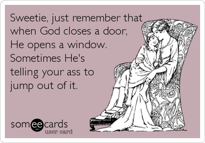God Closes a Door