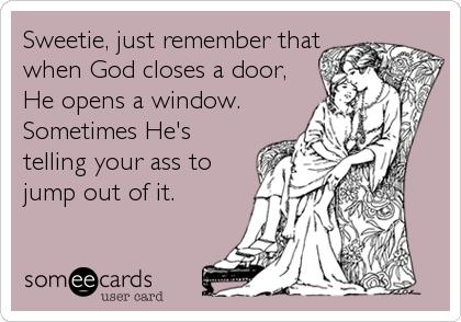 God Closes a Door
