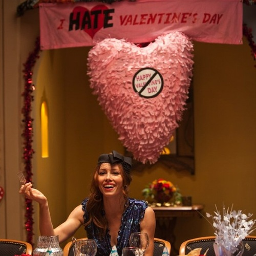 Valentine Day Movie party scene