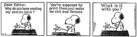 snoopy rejection III