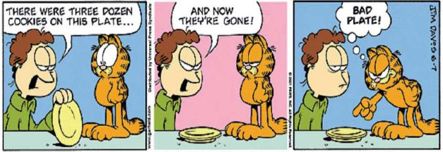 Eating Garfield Jim Davis
