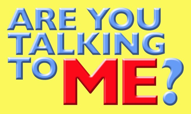 Are you talking to me God sign