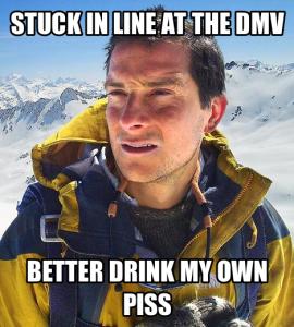 DMV long line