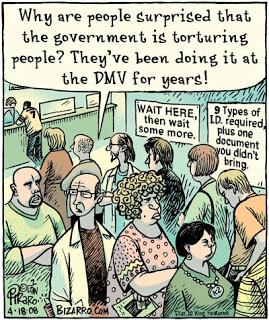 DMV torture