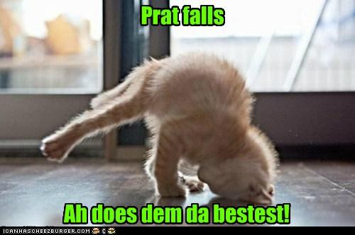 Prat falls