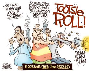 Bag of Candy Defense Florida Gun Law John Cole The Scranton Times Tribune