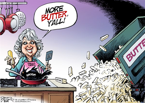 Paula Deen More Butter Nate Beeler The Columbus Dispatch