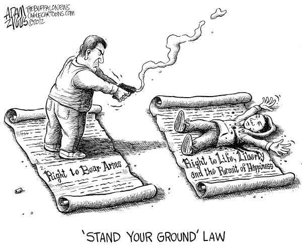 Trayvon Right to Life Adam Zyglis The Buffalo News