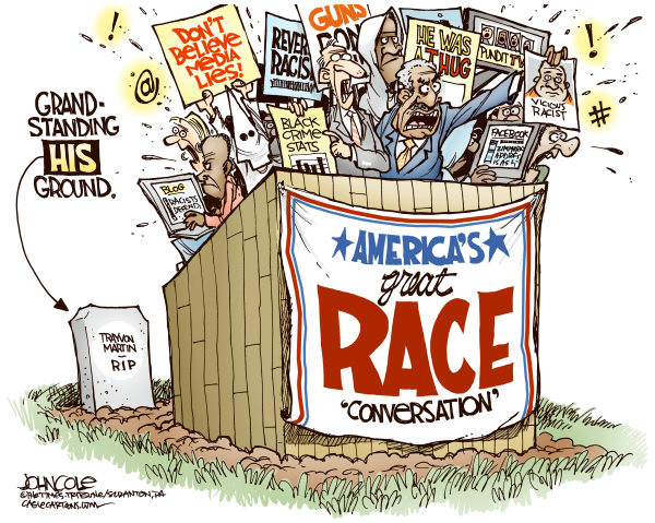 Trayvon vs blasphemy of character John Cole The Scranton Times Tribune