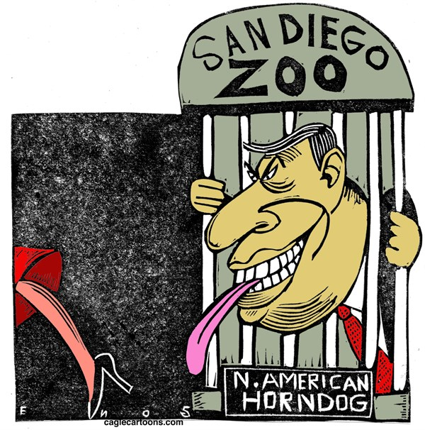 Filner Randall Enos Cagle Cartoons