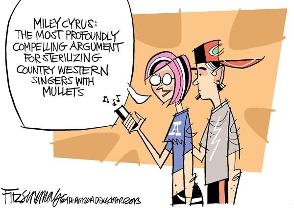Miley Cyrus II David Fitzsimmons The Arizona Star