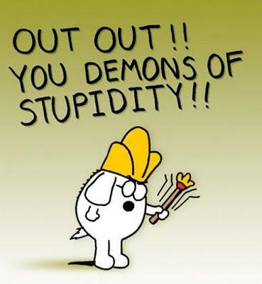 stupidity demons ianchadwick dot com