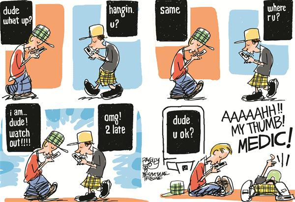 Teen Cluelessness Pat Bagley Salt Lake Tribune