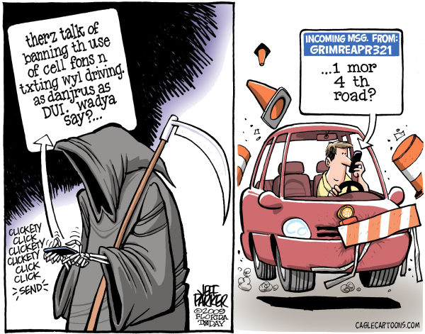 Texting while driving II Jeff Parker Florida Today