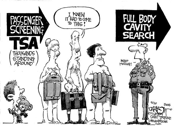 TSA Full Cavity John Darkow Columbia Daily Tribune Missouri