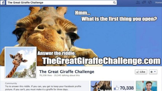 FB The Great Giraffe Challenge