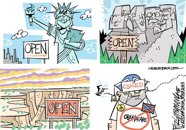 Halloween Government open David Fitzsimmons The Arizona Star