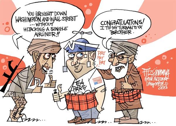 Tea Party II David Fitzsimmons The Arizona Star