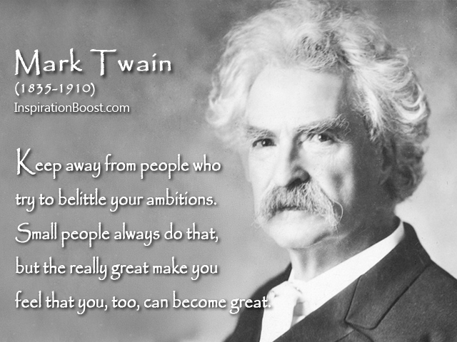 Mark Twain Become Great