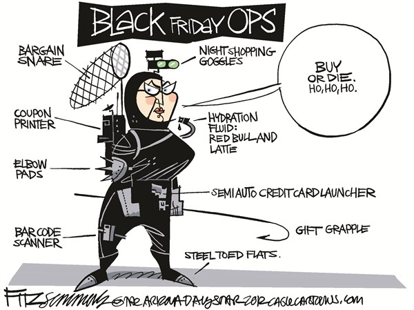Thanksgiving shopper David Fitzsimmons The Arizona Star