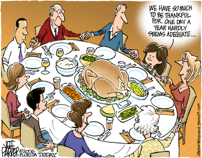 Thanksgiving Table Jeff Parker