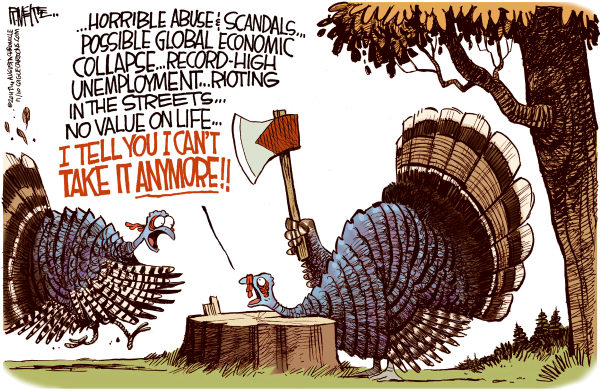 Turkey Quiting America Cagle
