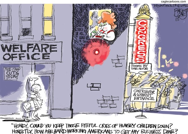 Hungry Americans Pat Bagley Salt Lake Tribune