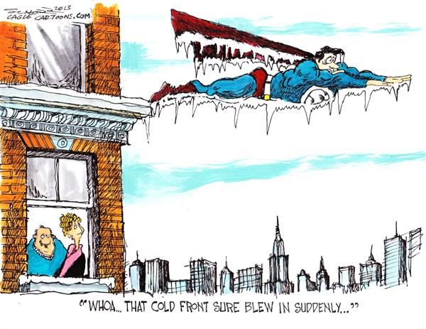Cold Front Bill Schorr Cagle Cartoons