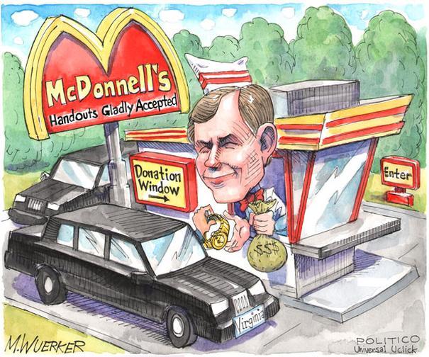 McDonnells donations