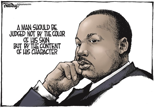MLK Bill Day Cagle Cartoons