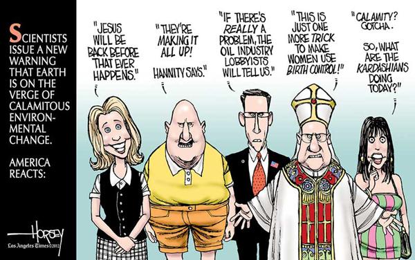 America Reacts Horsey Cartoon