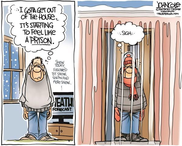 Cold Weather No End John Cole The Scranton Times Tribune