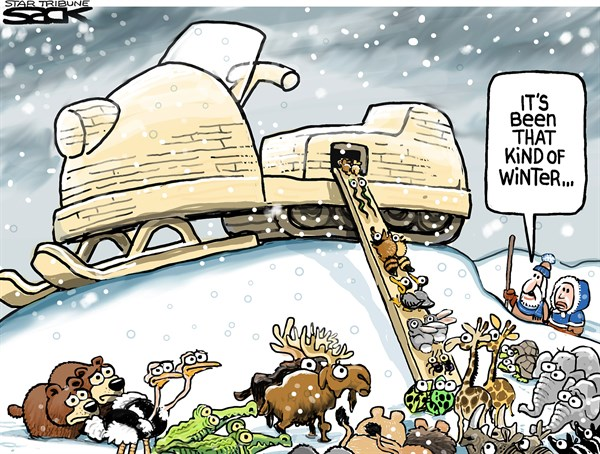 Winter Escape Steve Sack The Minneapolis Star Tribune