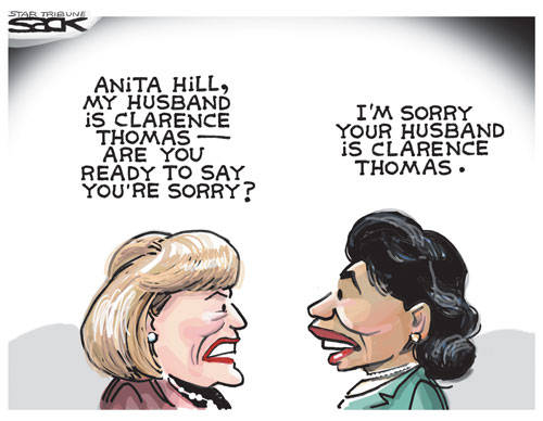 Anita Hill Apology Sack Star Tribune