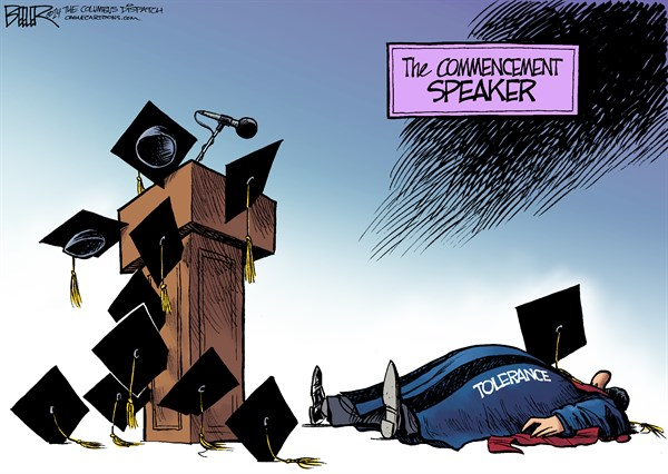 Commencement Speaker Nate Beeler The Columbus Dispatch