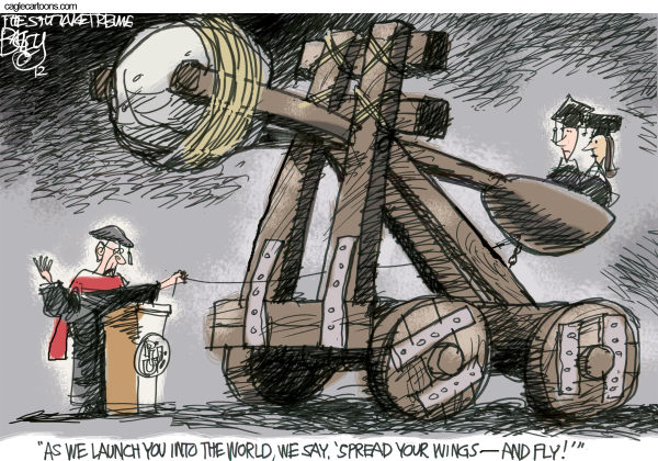 Graduates Beginning Pat Bagley Salt Lake Tribune
