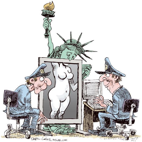 TSA Daryl Cagle CagleCartoons com
