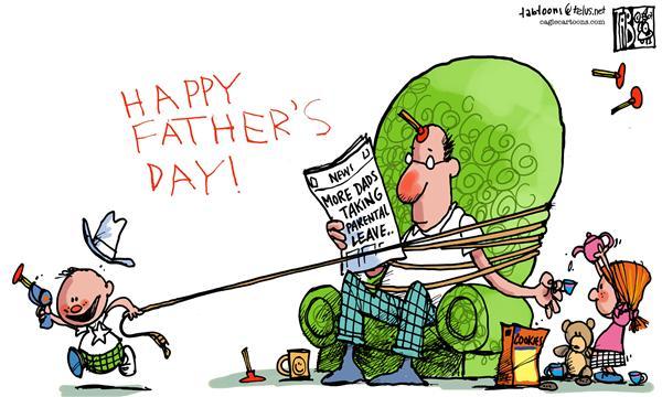 Father's Parental Leave Tab, The Calgary Sun