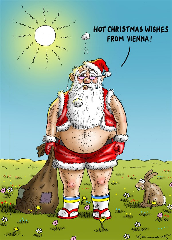 Hot Christmas Wishes from Vienna Marian Kemensky Slovakia