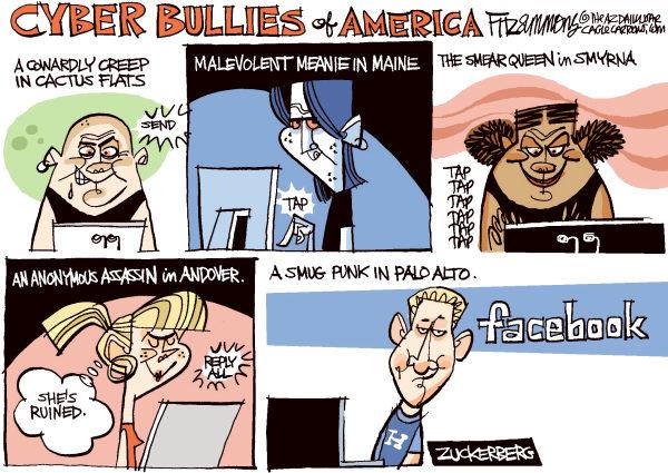 Bullies Types David Fitzsimmons The Arizona Star
