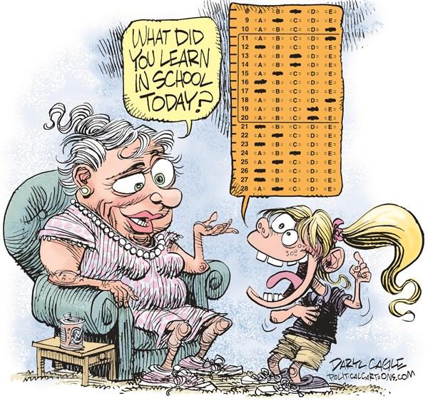 Testing Daryl Cagle CagleCartoons com