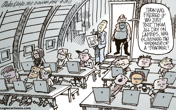 Testing Mike Keefe Cagle Cartoons