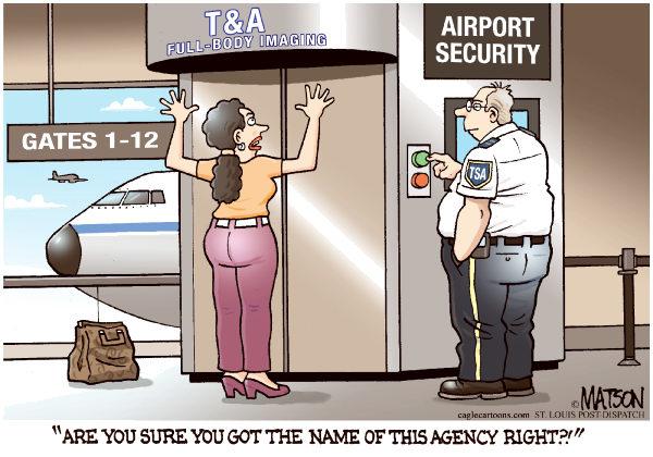 TSA RJ Matson