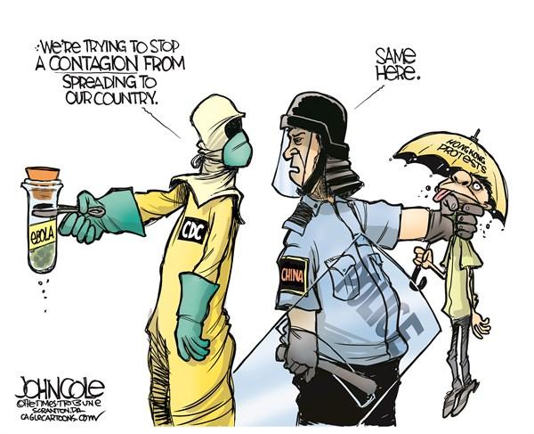 Ebola and Hong Kong John Cole The Scranton Times Tribune