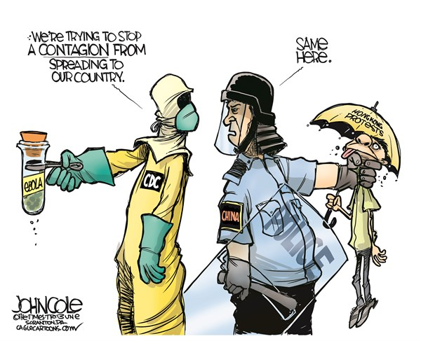 Ebola and Hong Kong John Cole The Scranton Times Tribune