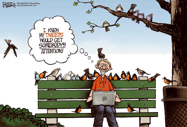Bird Tweets Nate Beeler The Columbus Dispatch