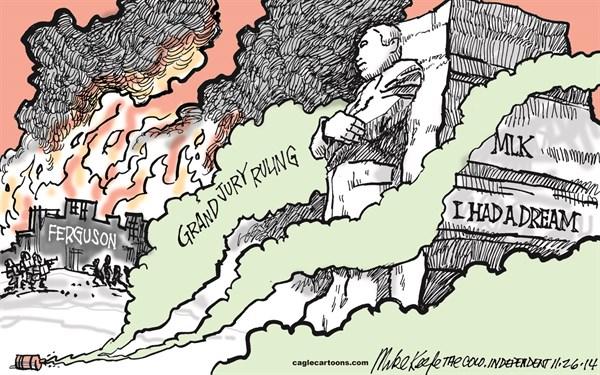 Ferguson Grand Jury Mike Keefe Cagle Cartoons