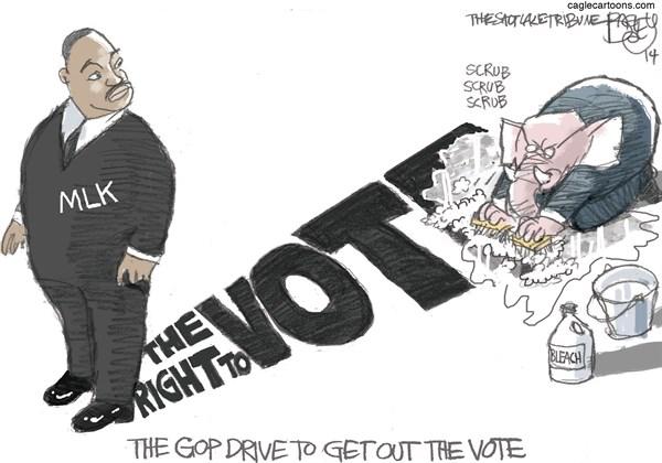 Get Out the Vote Pat Bagley Salt Lake Tribune