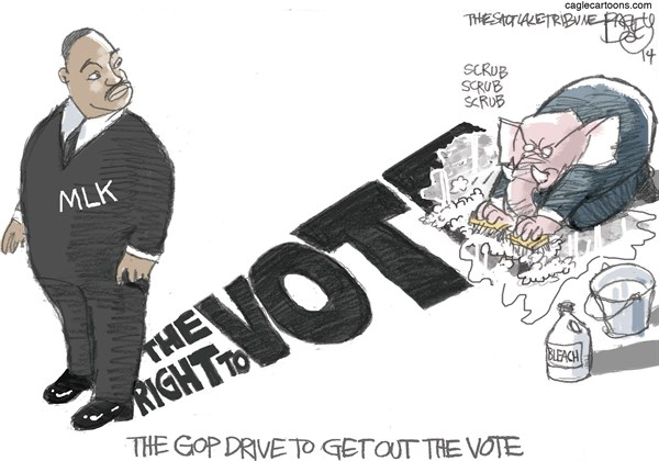 Get Out the Vote Pat Bagley Salt Lake Tribune